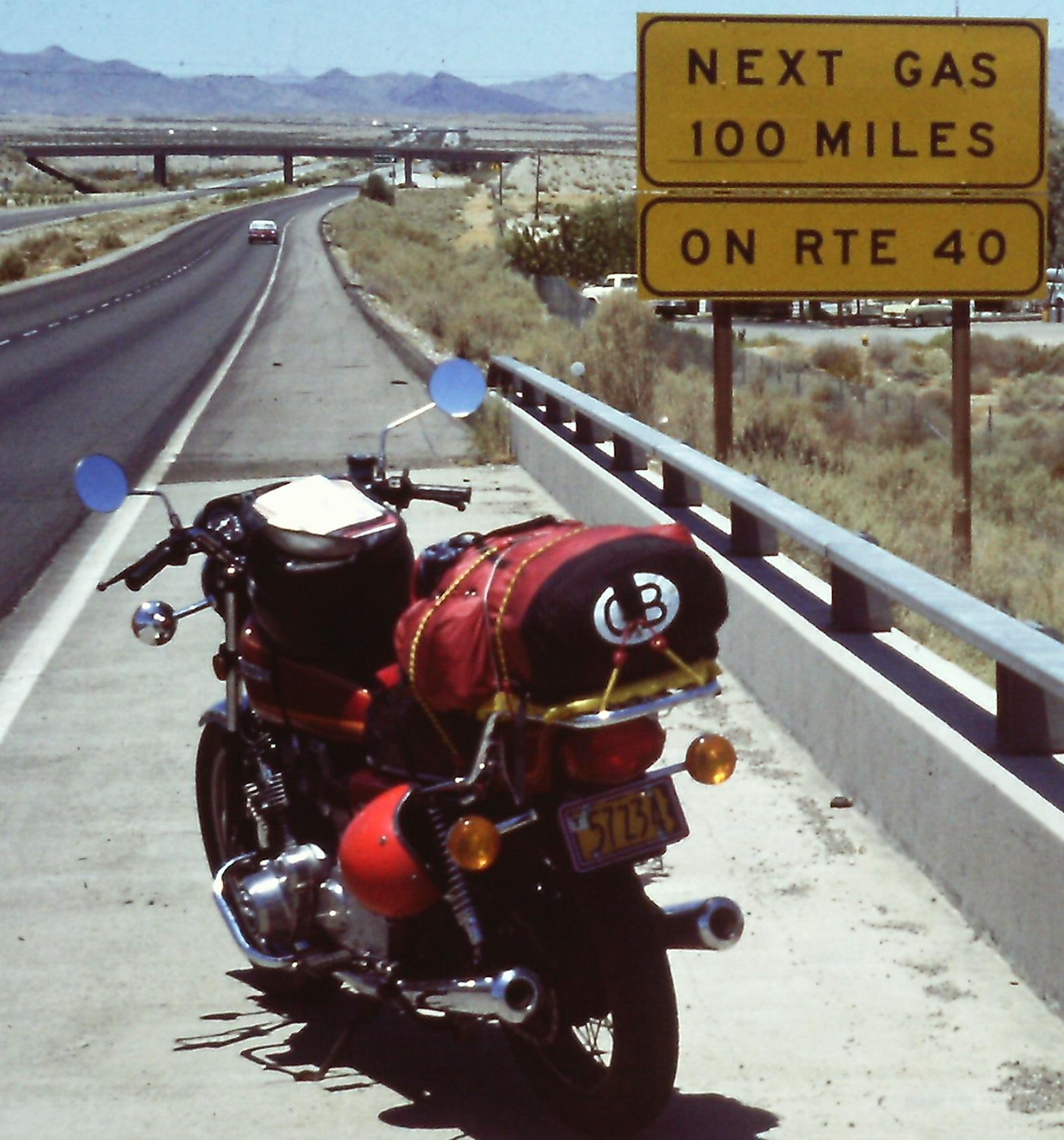 Neil - USA and Canada by bike - 1980 (88c)