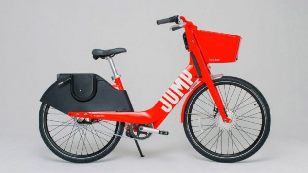 Jump electric hire bike