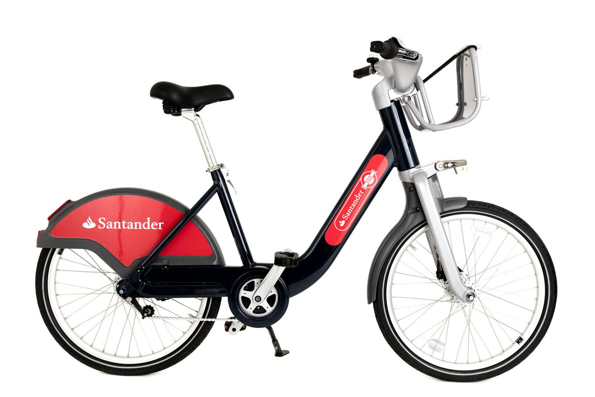 Santander hire bike scheme