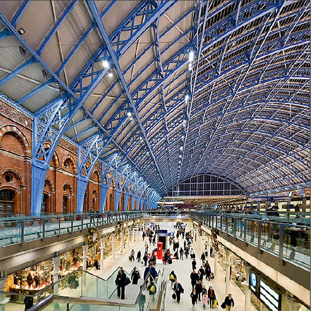 Adam Welber - London St. Pancras railway station