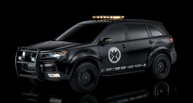 Agents of Shield van