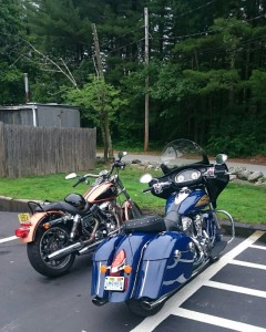 Minimilist Harley vs bloated Indian