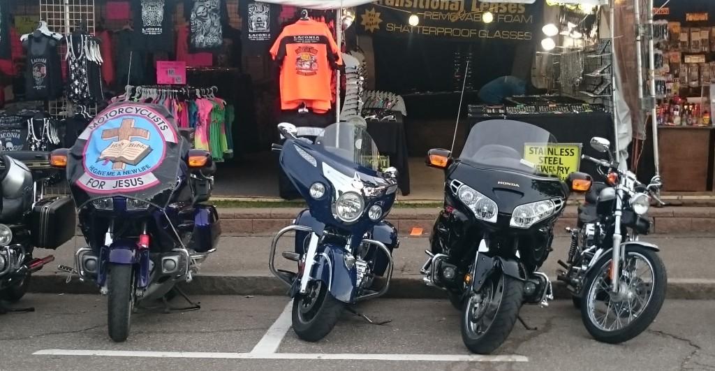 bikes at laconia