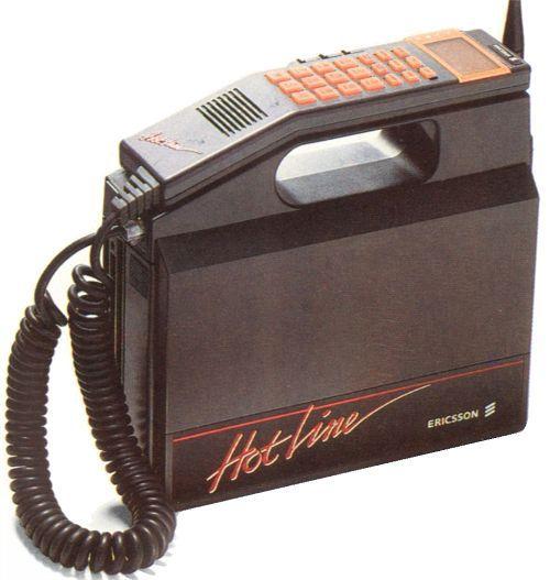first car phone