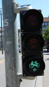 Bicycle traffic lights