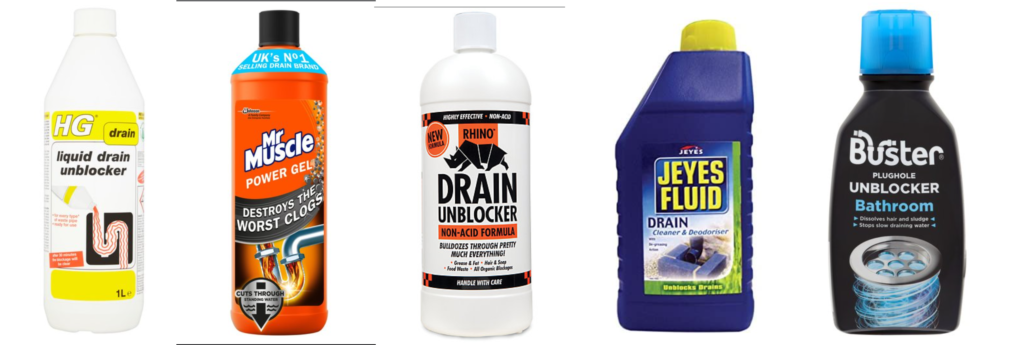 liquid drain unblockers