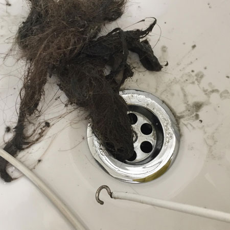 sink-hair-source Reddit